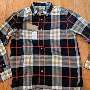 "Burberry ""Richard"" Checked LS Button Up Shirt"